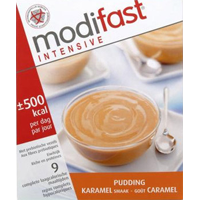 Modifast Intensive pudding caramel 9X47g