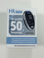 HT ONE TD-gluco teststrips 50st